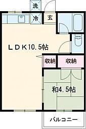 🉐敷金礼金0円!🉐コーポオオクラ
