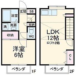 JR南武線 武蔵中原駅 徒歩5分の賃貸テラスハウス