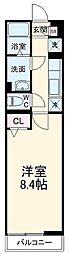 JR京浜東北・根岸線 南浦和駅 徒歩16分の賃貸アパート 1階1Kの間取り