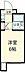 間取り,ワンルーム,面積16.08m2,賃料4.9万円,JR中央線 国分寺駅 徒歩3分,JR中央線 西国分寺駅 徒歩19分,東京都国分寺市南町3丁目