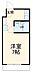 間取り,ワンルーム,面積18m2,賃料4.0万円,千葉都市モノレール スポーツセンター駅 バス14分 宮野木下車 3.1km,千葉都市モノレール 穴川駅 バス13分 宮野木市営住宅下車 徒歩33分,千葉県千葉市稲毛区宮野木町