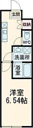 京王線 千歳烏山駅 徒歩5分の賃貸テラスハウス 1階1Kの間取り