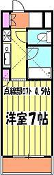 Tea−room大成 1階1Kの間取り