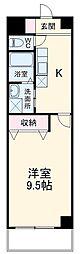 名鉄名古屋本線 名鉄岐阜駅 バス25分 島南公園前下車 徒歩5分の賃貸マンション 1階1Kの間取り