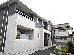 東武日光線 新大平下駅 バス14分 下皆川東下車 徒歩4分の賃貸アパート