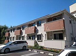 JR成田線 成田駅 バス17分 七栄四ツ角下車 徒歩10分の賃貸アパート