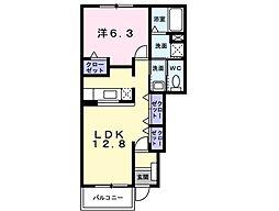 JR横須賀線 戸塚駅 バス13分 江ノ電バス久保下車 徒歩1分の賃貸アパート 1階1LDKの間取り
