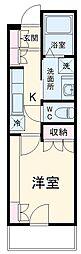 埼玉高速鉄道 戸塚安行駅 徒歩16分の賃貸アパート 3階1Kの間取り