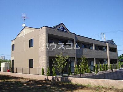 外観,2LDK,面積51.66m2,賃料5.4万円,JR常磐線 羽鳥駅 徒歩5分,,茨城県小美玉市羽鳥