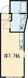 レオリオ 3階ワンルームの間取り
