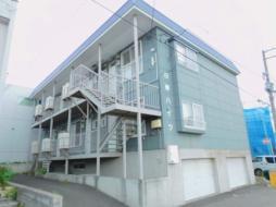 札幌市営東西線 発寒南駅 徒歩19分の賃貸アパート