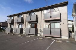 JR東北新幹線 郡山駅 バス15分 一本松下車 徒歩10分の賃貸アパート