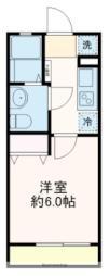 JR京葉線 舞浜駅 徒歩20分の賃貸アパート 1階1Kの間取り