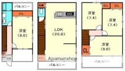 藤田町1丁目貸家(コスモ)