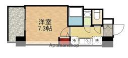 S−RESIDENCE新大阪リデンテ 3階1Kの間取り