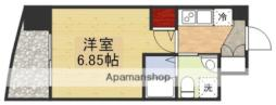 セレニテ江坂ルフレ 3階1Kの間取り
