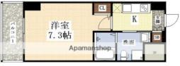 エグゼ新大阪南 9階1Kの間取り
