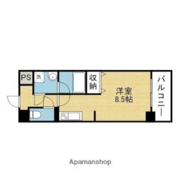 Osaka Metro千日前線 今里駅 徒歩5分の賃貸マンション 11階1Kの間取り
