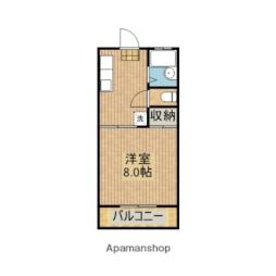JR日南線 南方駅 徒歩8分の賃貸アパート 1階1Kの間取り