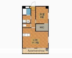 JR日南線 日南駅 徒歩22分の賃貸マンション 4階1LDKの間取り