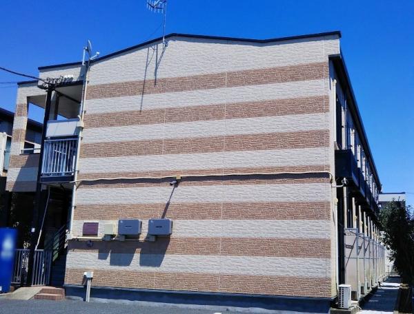レオパレス金木犀II[2階]の外観